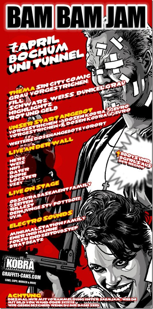 Bam Bam Jam 04.07.2012 (Flyer)