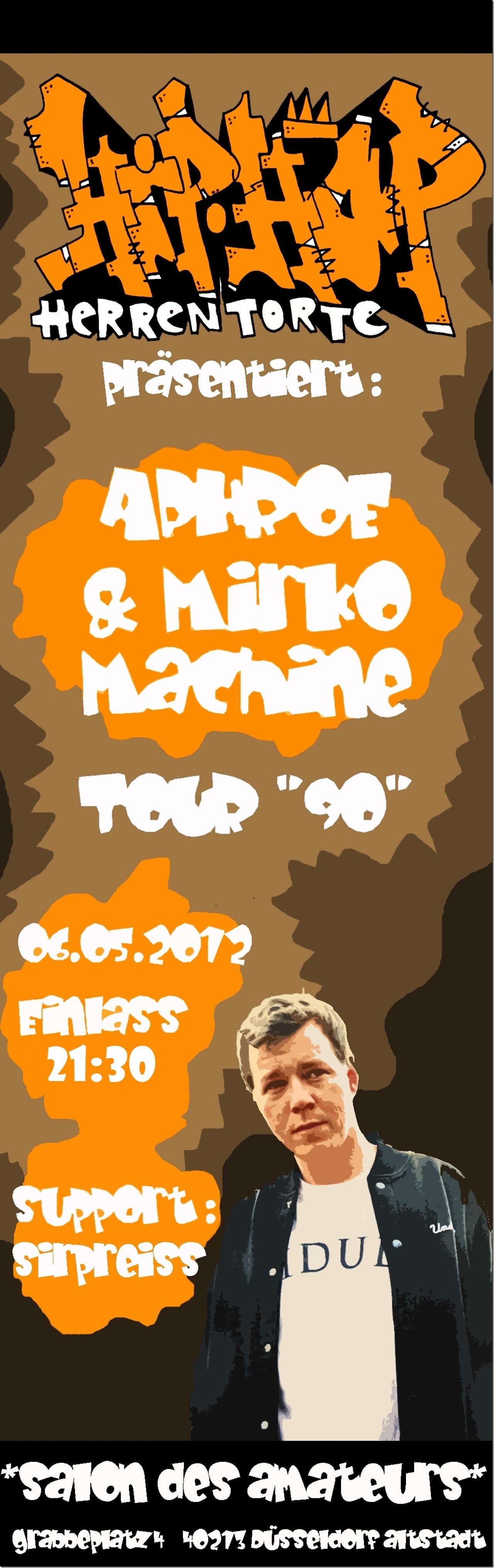 Aphroe, Mirko Maschine & SirPreiss Flyer