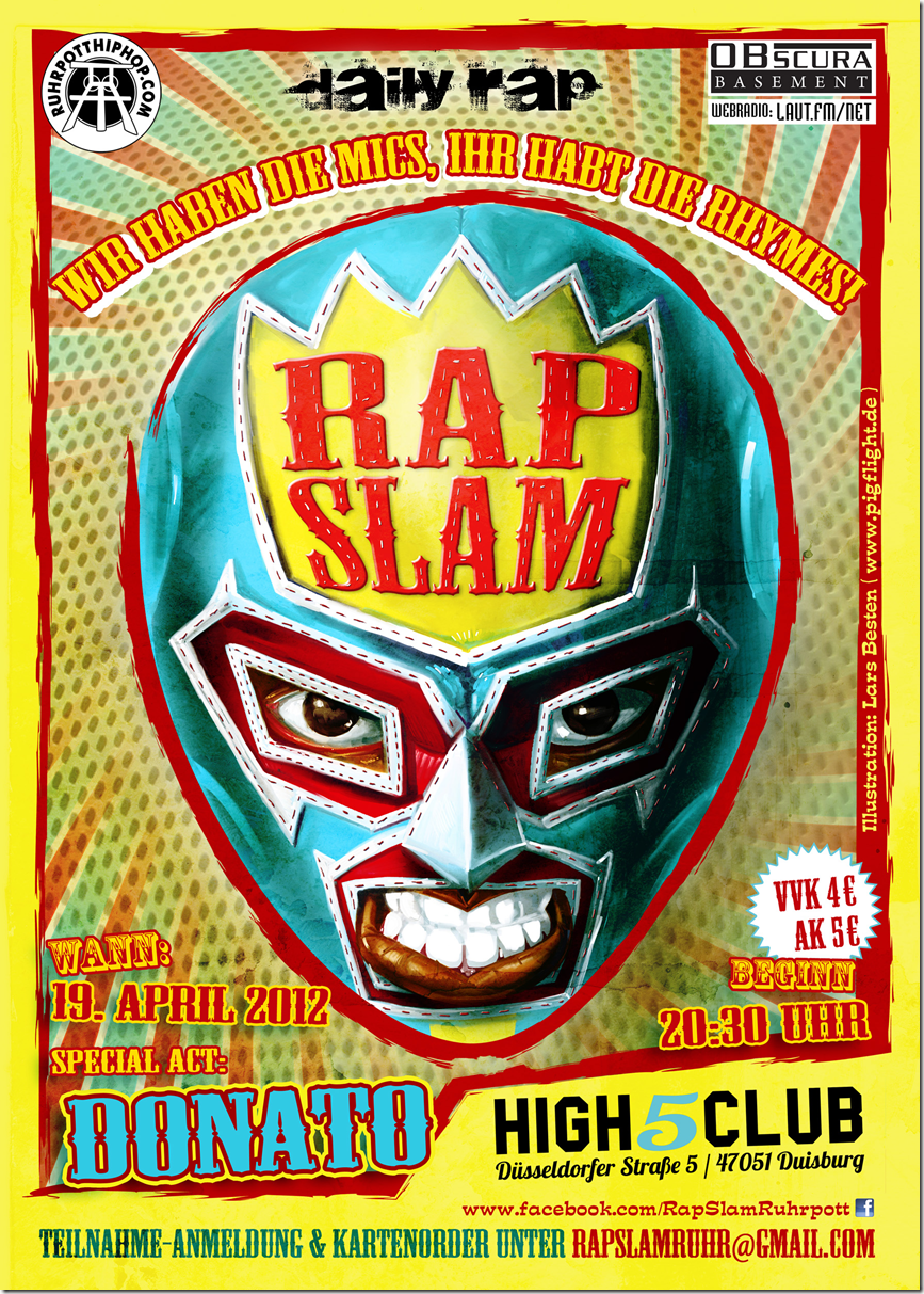 Rap-Slam-Duisburg-Donato-SirPreiss-Flyer