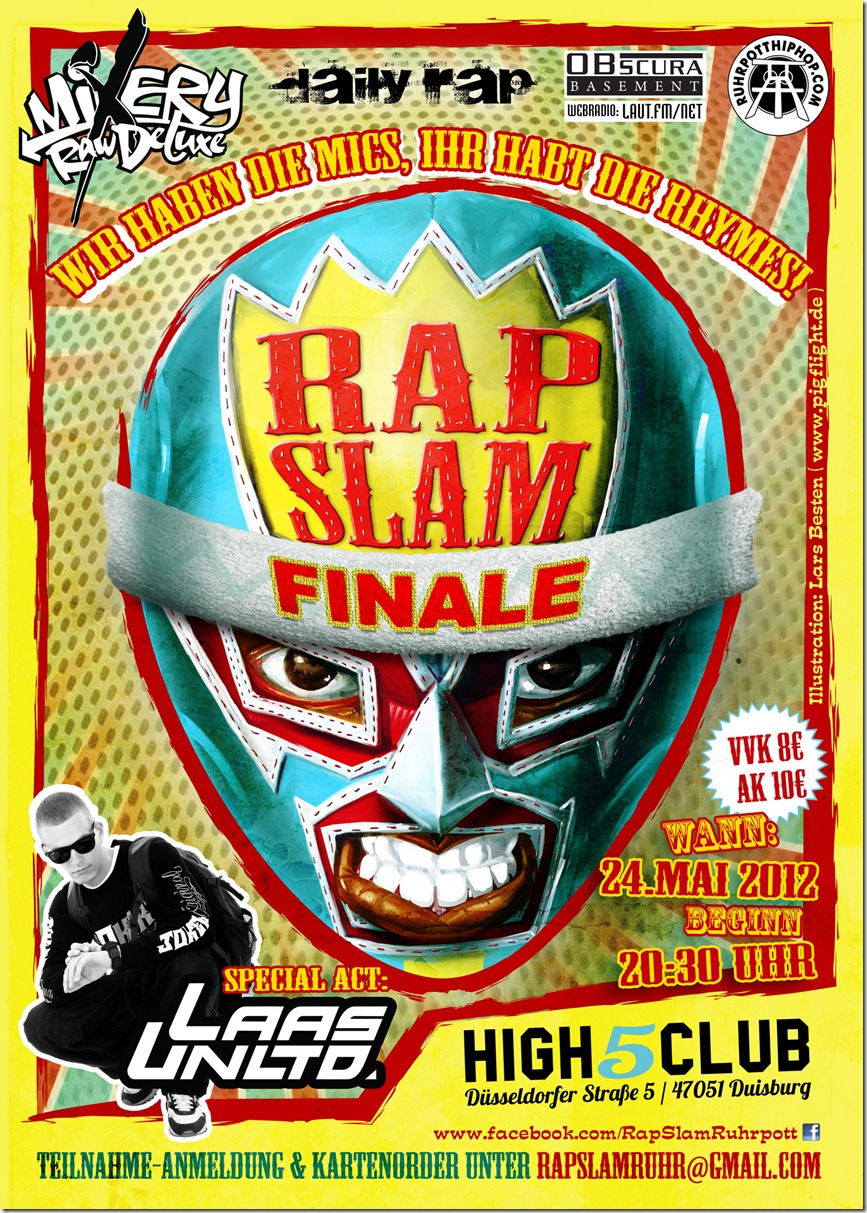 Rap-Slam-Duisburg-Donato-SirPreiss-Flyer-Mixery