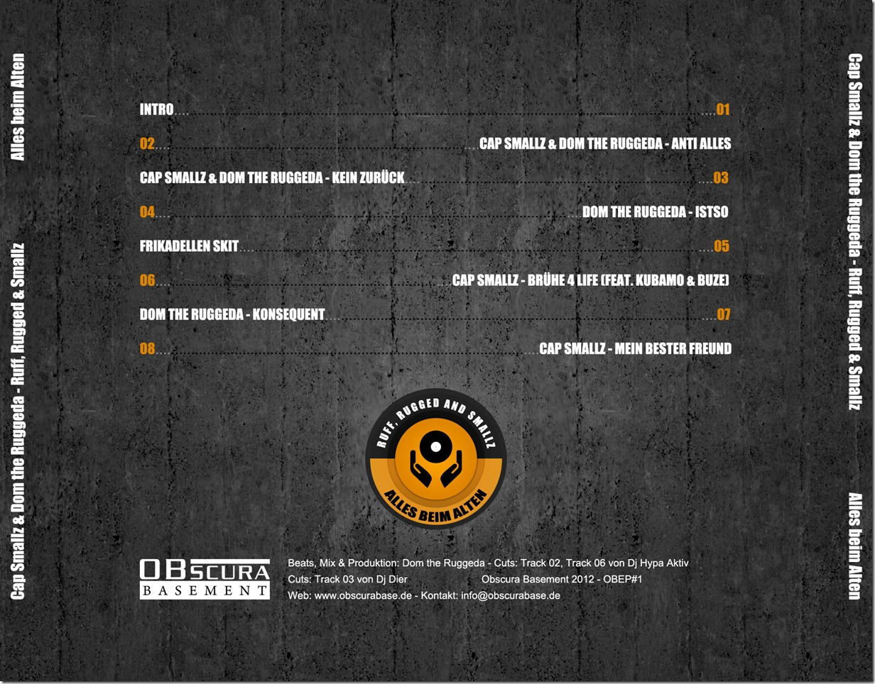 Cap Smallz & Dom The Ruggeda - Ruff, Rugged & Smallz (Back Cover).jpg