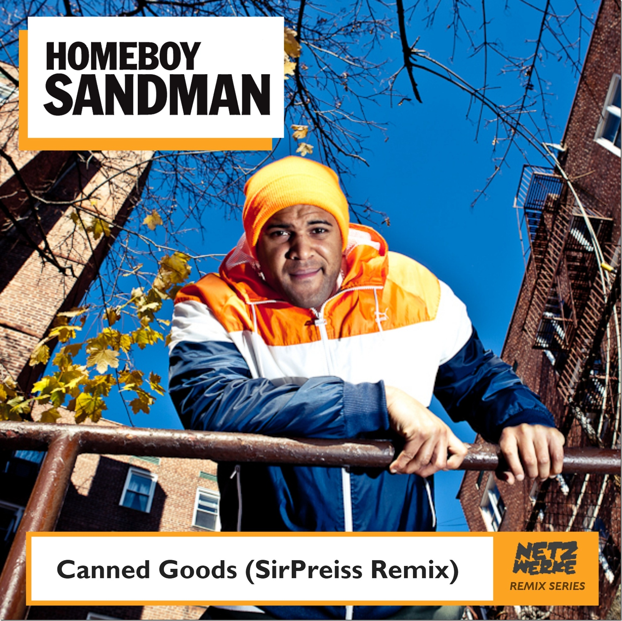 Homeboy Sandman - Canned Goods (SirPreiss Remix) Cover