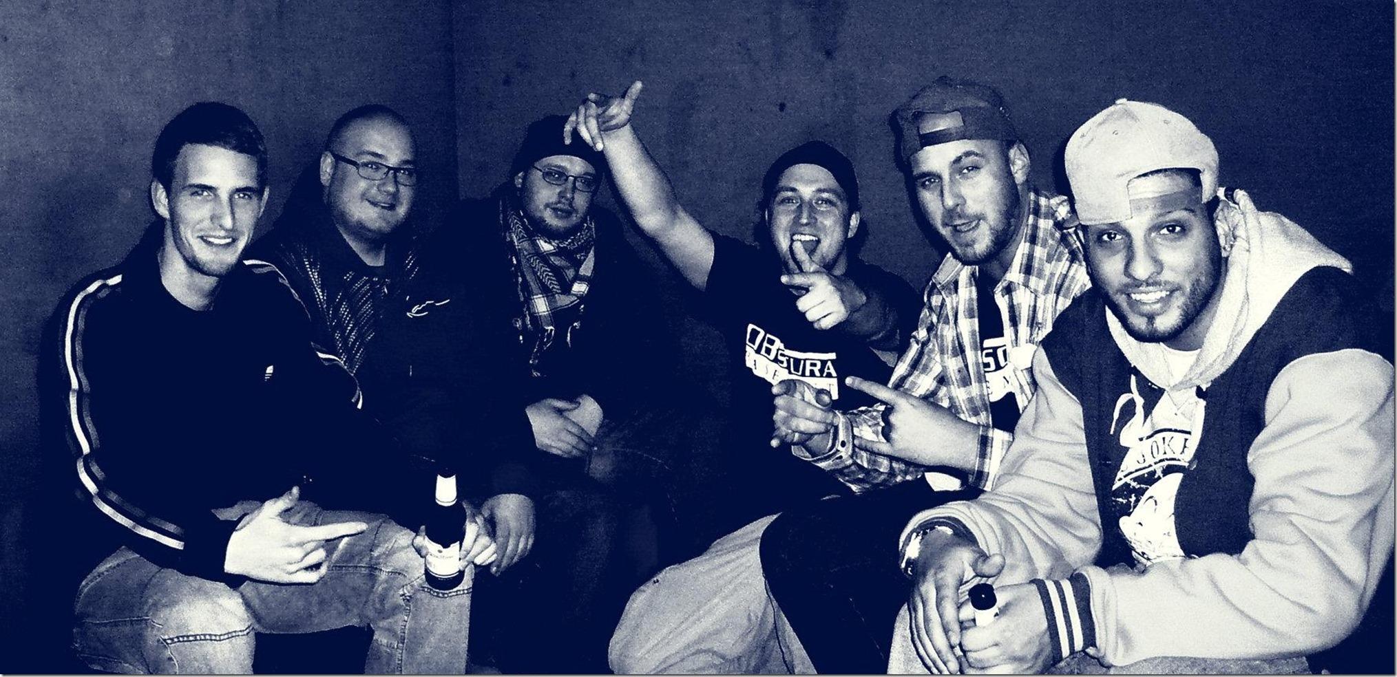 Obscura Basement (Jacek, Dom, SirPreiss, Schmalle, Kuba).
