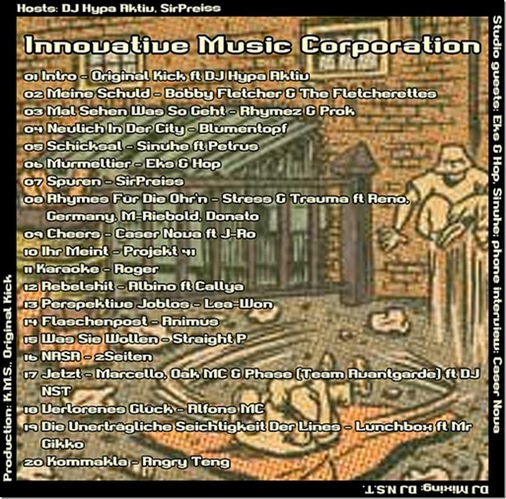 IMC-Mixshow-09-2012-Eks-und-Hop-Caser-Nova-Binding-Squad-Tracklist