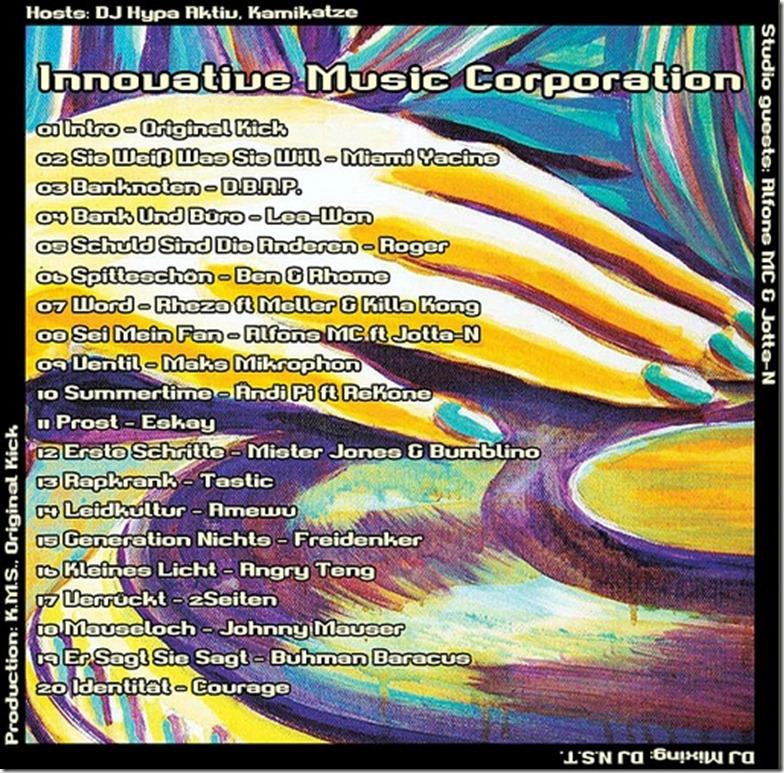 IMC Radio Mixshow 04-2012 mit Alfons MC & Jotta-N (Tracklist)