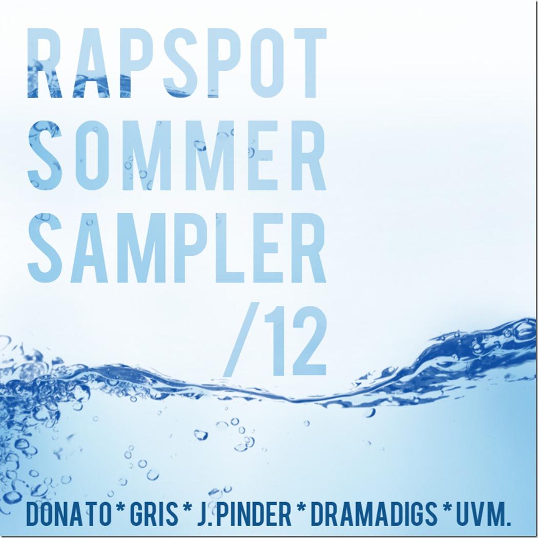 RapSpot Sommer Sampler 2012 (Cover)
