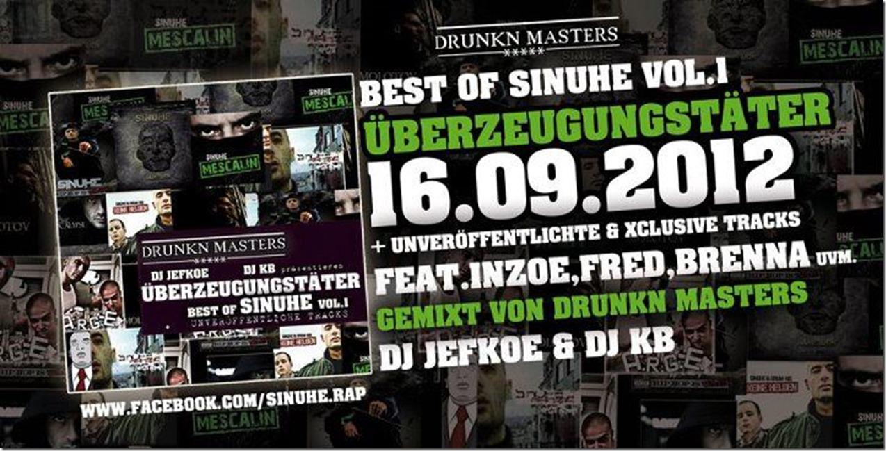 Best-of-Sinuhe-Ueberzeugungstaeter-Flyer