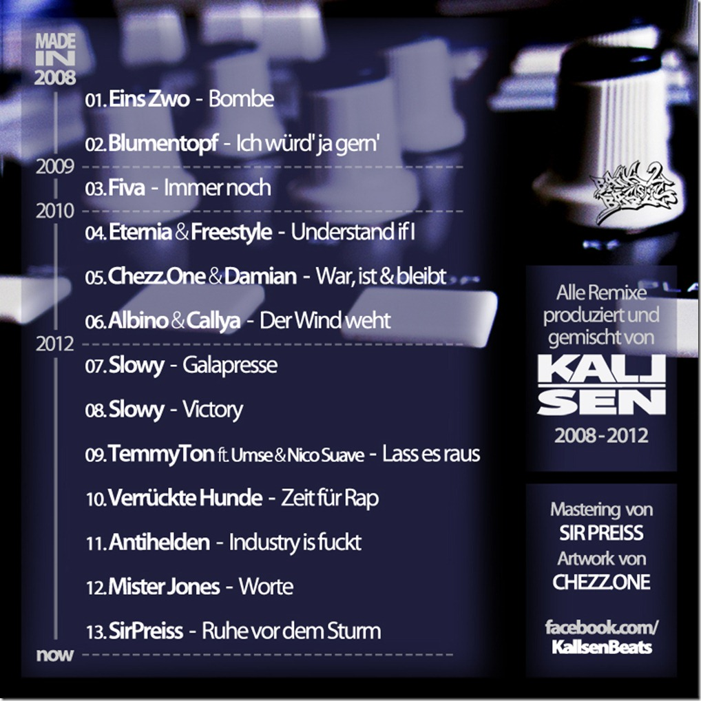 Kallsen - Tauschobjekt LP (Backcover)