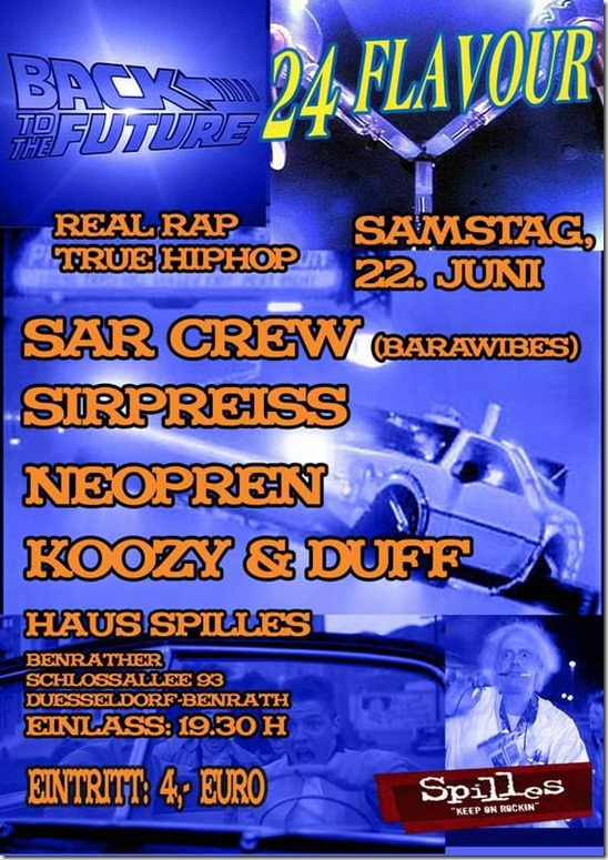 Back-to-the-Future-Flavour-24-SAR-Crew-SirPreiss-Neopren-Koozy-Duff-Flyer