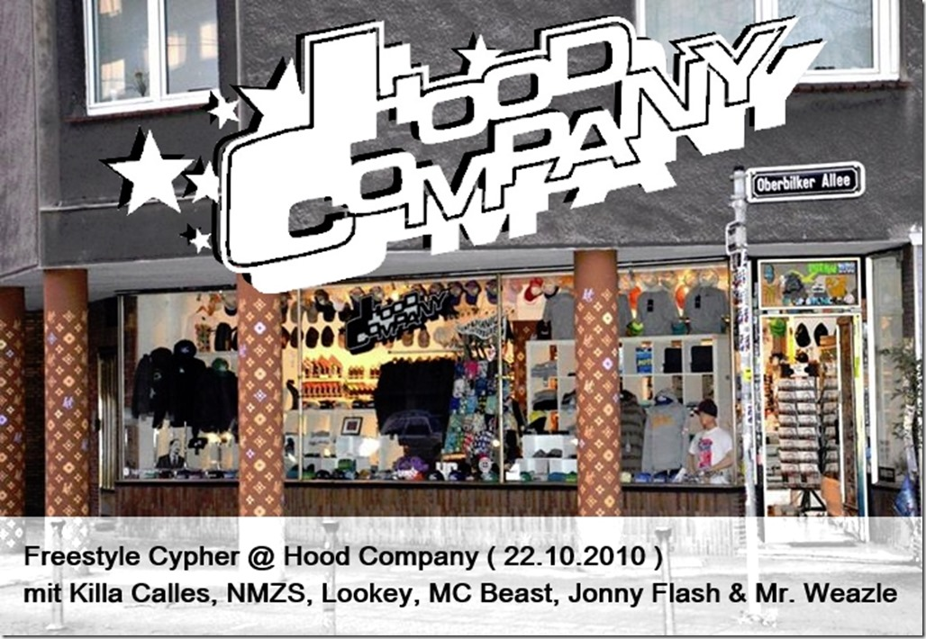 Freestyle Cypher @ Hood Company (22.10.2010)