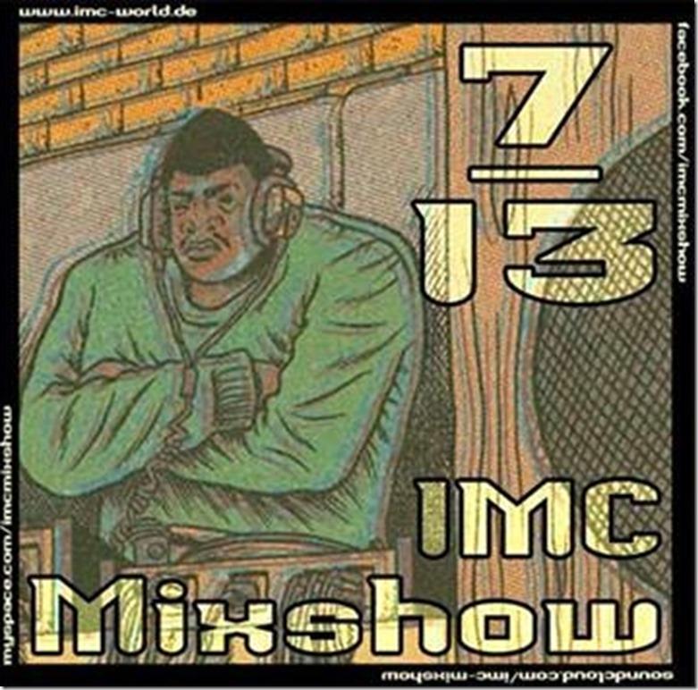 IMC Radio Mixshow 07-2013 mit Mpolo Beats & LMNZ (Cover)