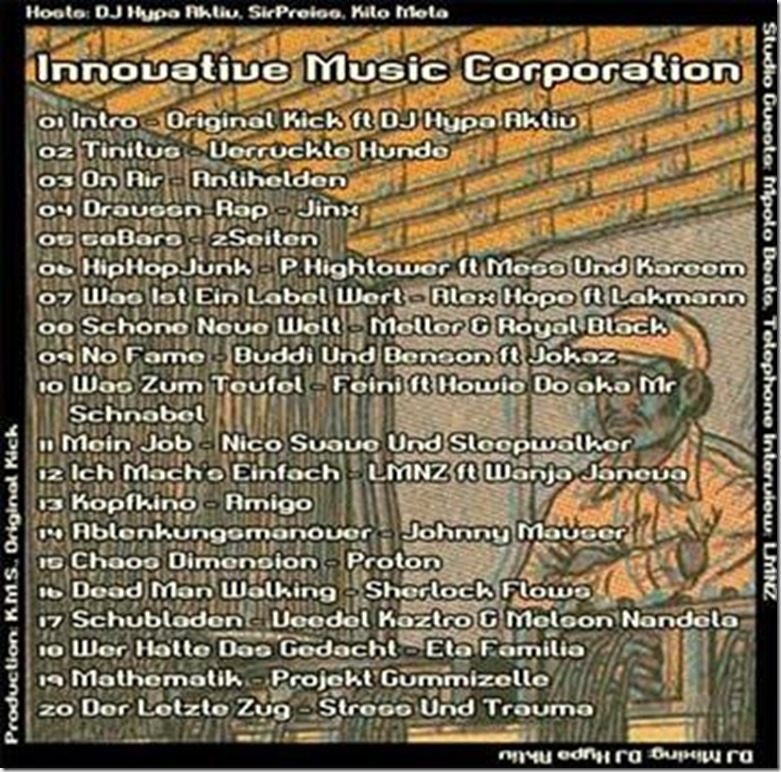 IMC Radio Mixshow 07-2013 mit Mpolo Beats & LMNZ (Tracklist)