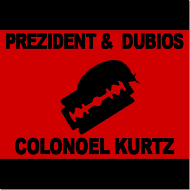 Prezident & Dubios - Colonel Kurtz EP (Front Cover)