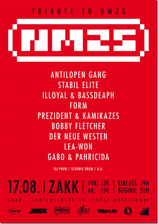 Tribute to NMZS Memorial Jam im Zakk (Düsseldorf)