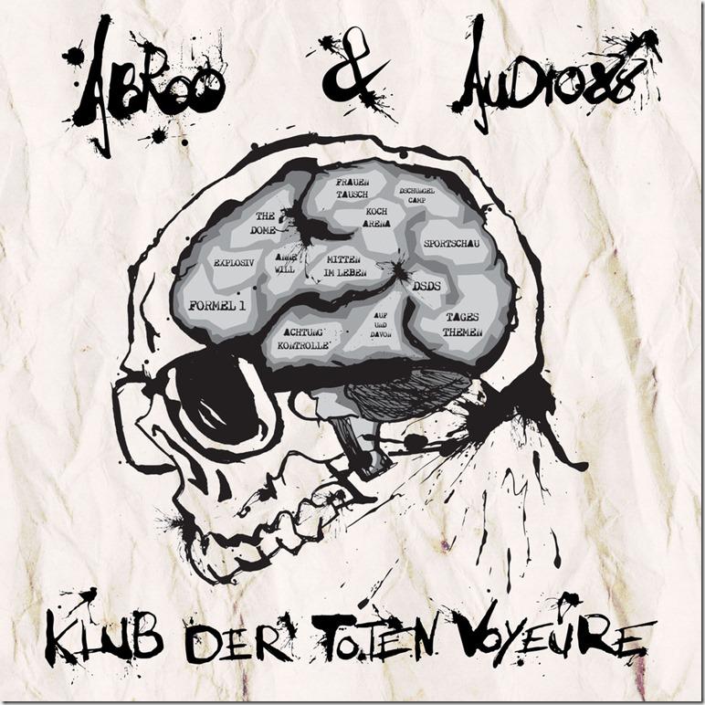 Abroo & Audio88 - Klub der toten Voyeure (Frontcover)