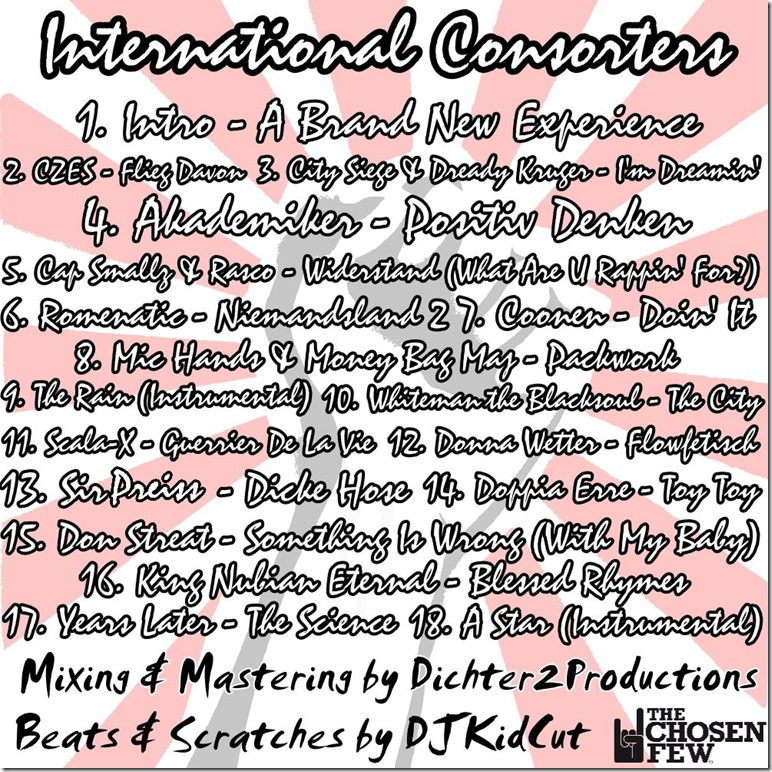 DJKidCut - International Consorters (Back Cover)
