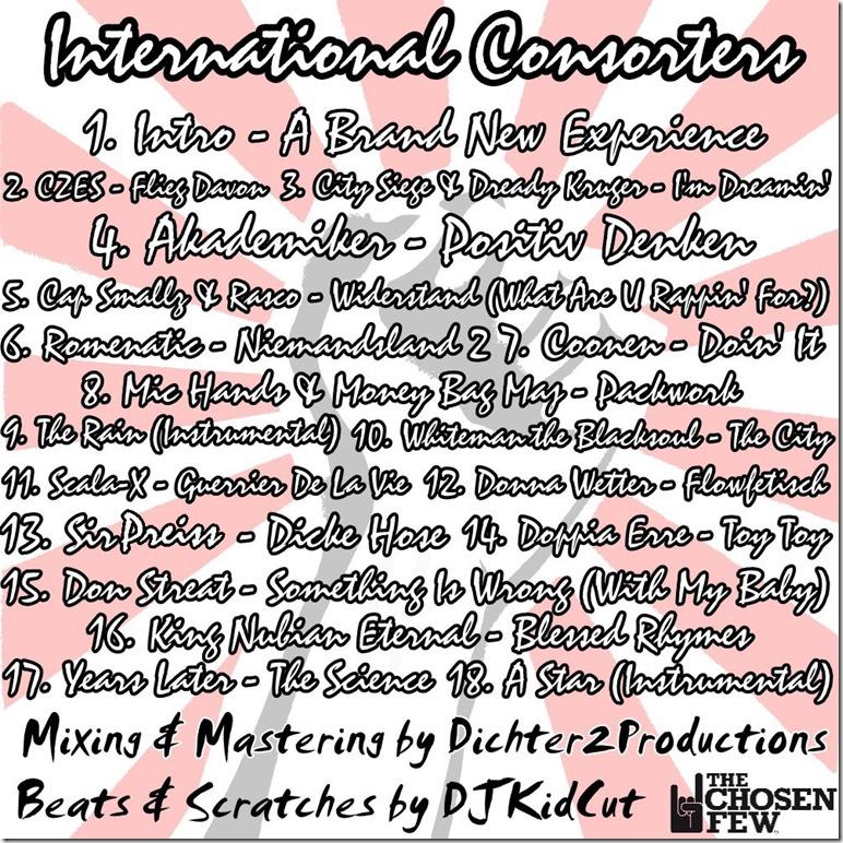 DJKidCut - International Consorters (Back Cover)