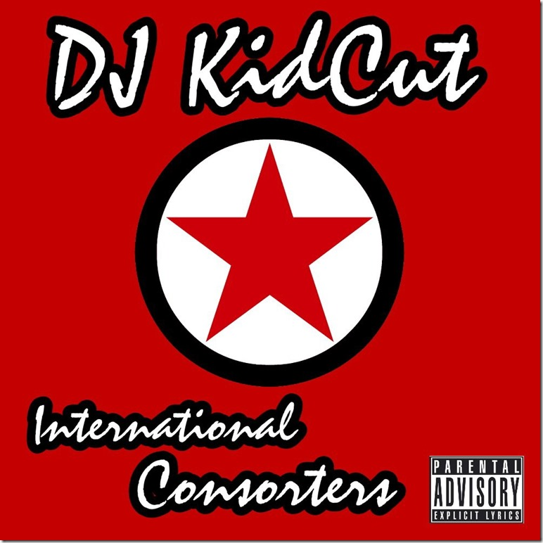 DJKidCut - International Consorters (Front Cover)