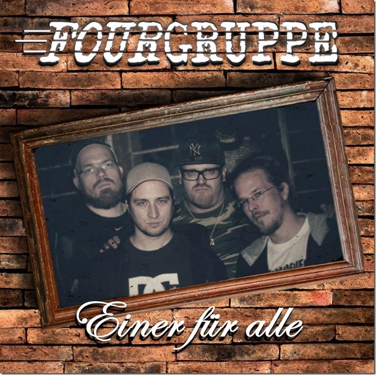 Fourgruppe - Einer für alle  EP (Cover)