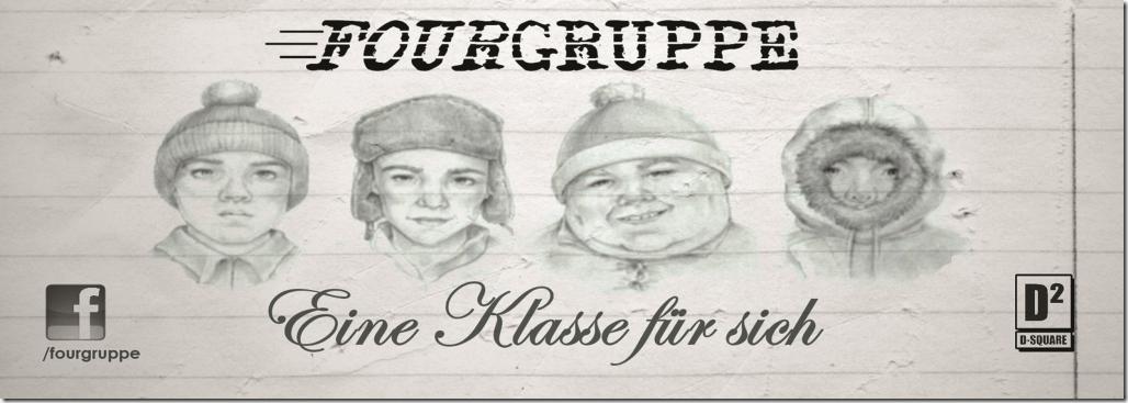 Fourgruppe - Eine Klasse für sich (Vinyl-Sticker)