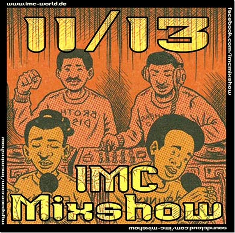 IMC Radio Mixshow 11-2013 mit Empty & Mert (Cover)