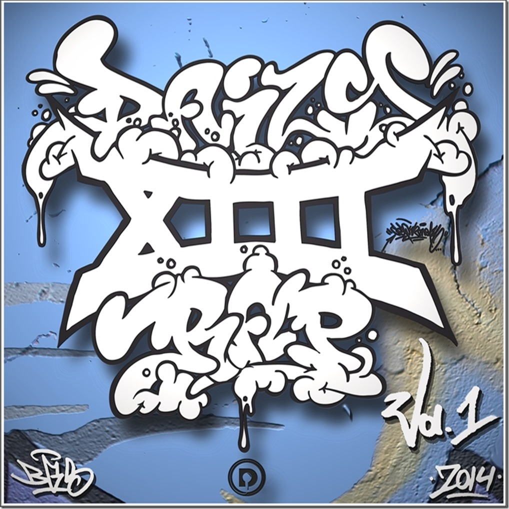 Daily Rap's XIII Sampler Vol.1 (Front Cover)