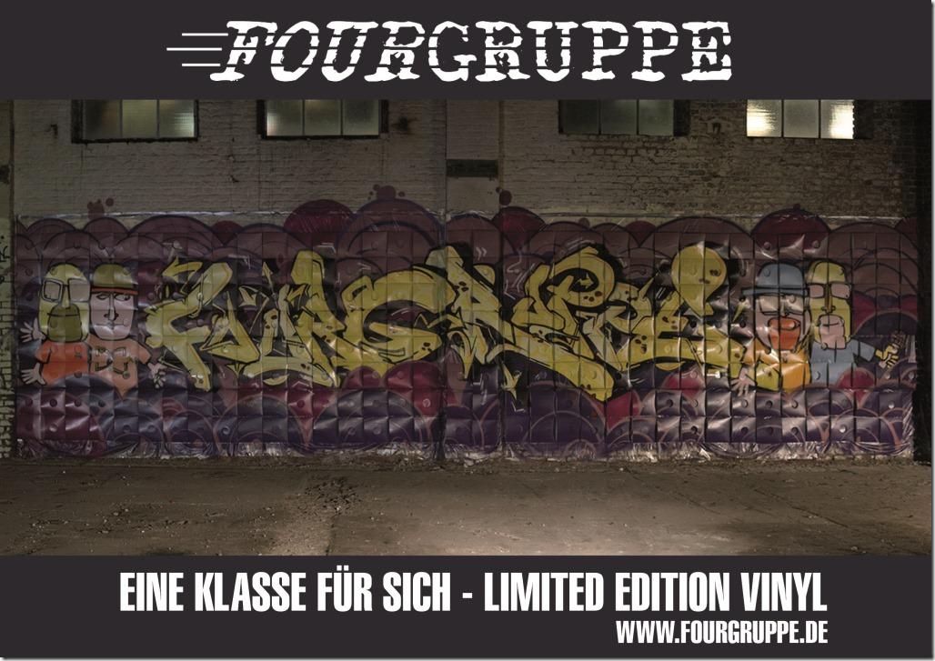 Fourgruppe - Eine Klasse für sich (Vinyl Card front)