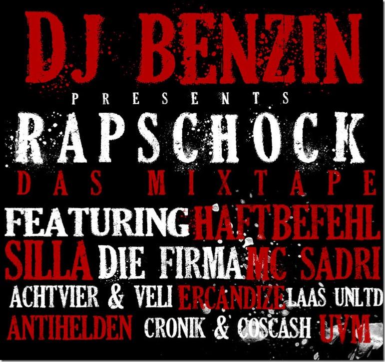 DJ Benzin präsentiert Rapschock Mixtape (Cover)