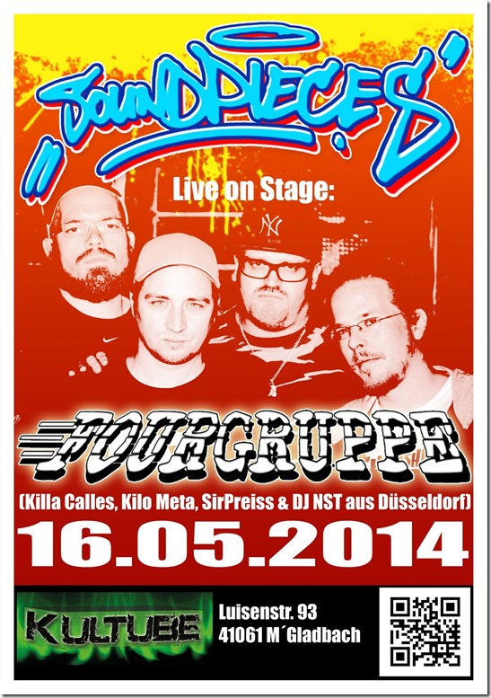 Fourgruppe @ Soundpieces (Flyer)