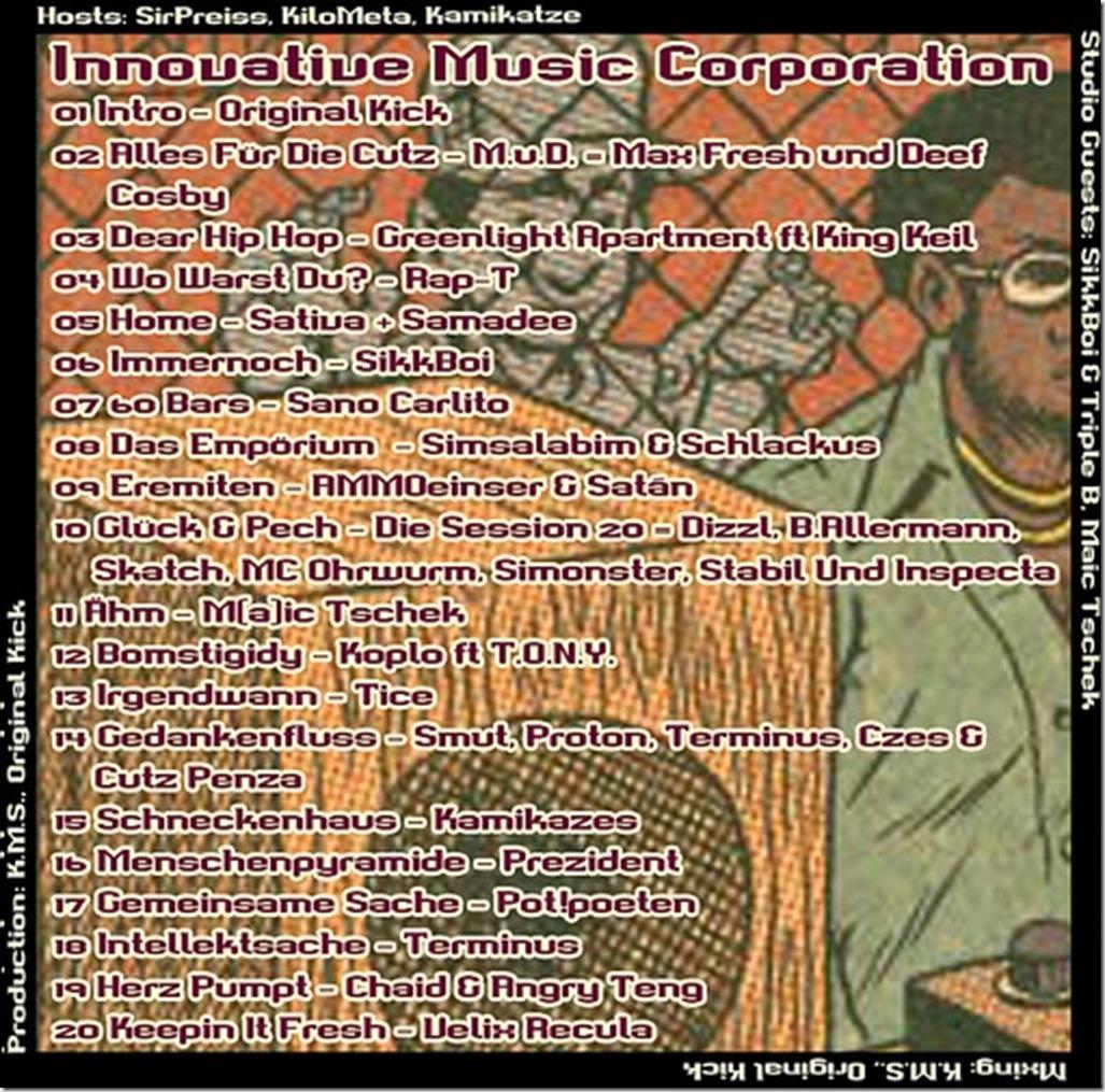 IMC Radio Mixshow 05-2014 mit Maic Tschek und SikkBoi (Tracklist)