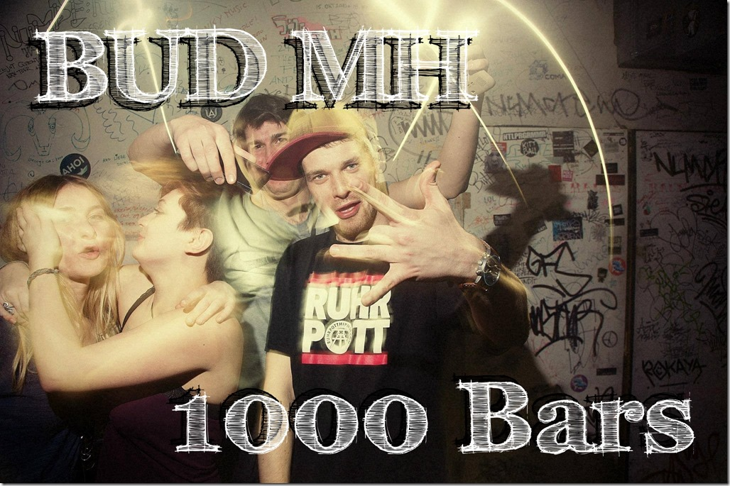 Bud MH - 1000 Bars (Flyer)