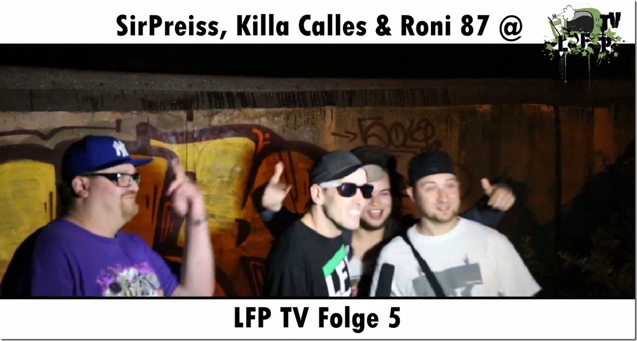 SirPreiss & Roni 87 @ LFP TV Folge 5 (Flyer)jpg