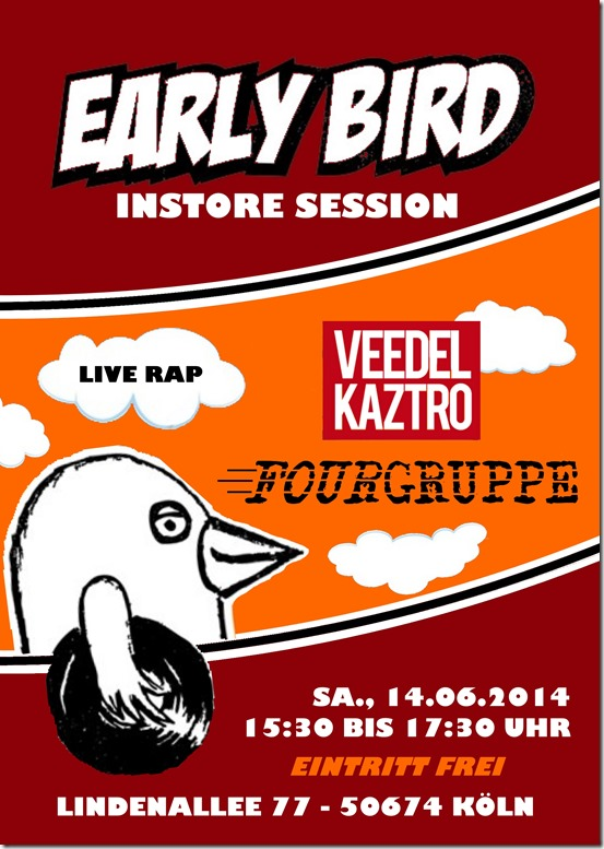 Veedel Kaztro & Fourgruppe @ Early Bird