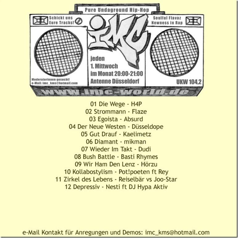 IMC Radio Mixshow 0410 (Tracklist)