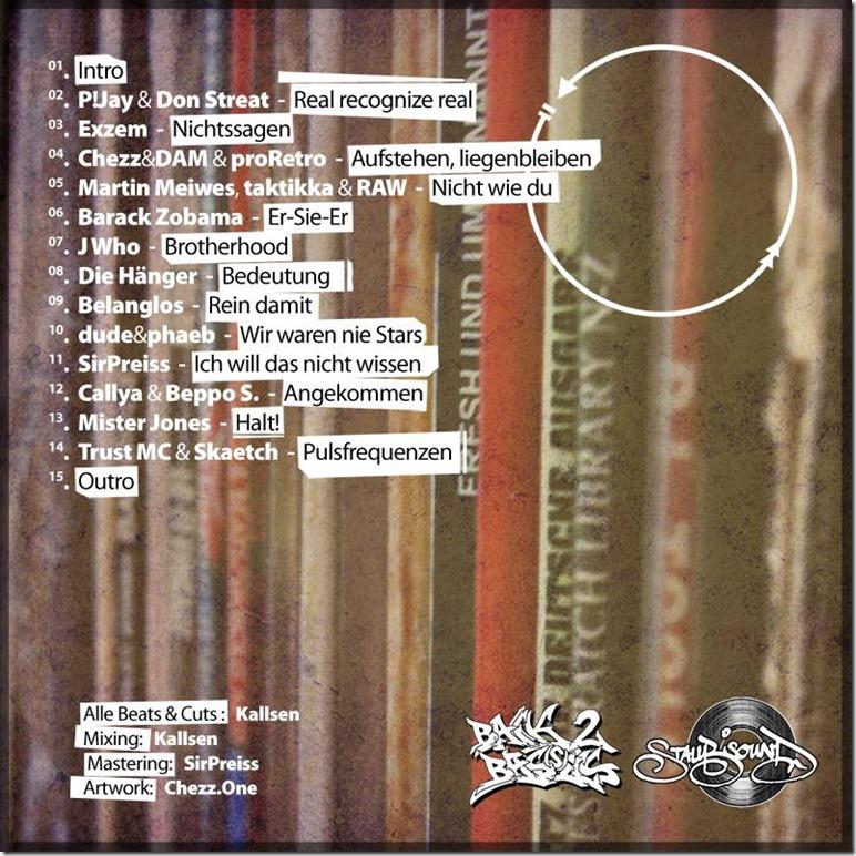 Kallsen - Über Umwege (Back Cover)