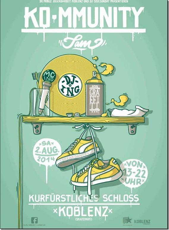 KOmmunity Jam 2014 (Flyer)