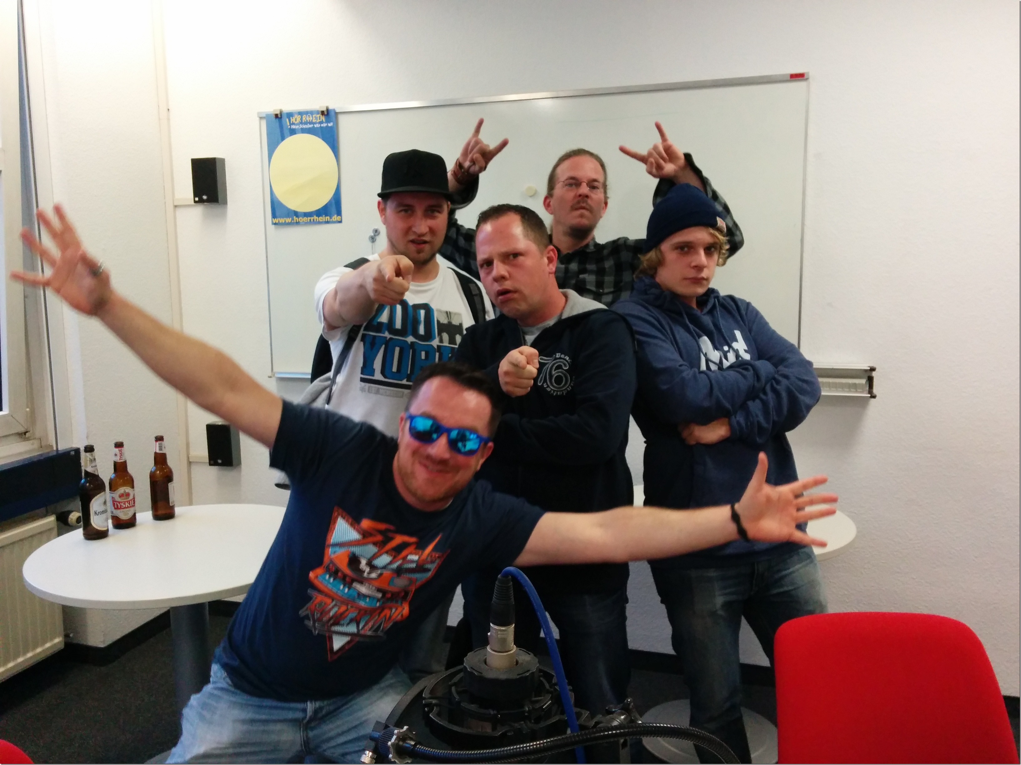 20140827 Chewie, SirPreiss, DJ Hypa Aktiv, Gold Roger & Kilo Meta @ IMC