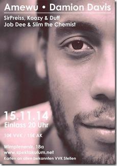 Amewu @ Spektakulum (Flyer)
