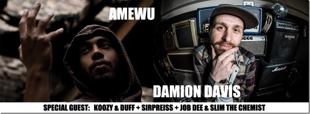 Amewu,Damion Davis, SirPreiss, Koozy & Duff @ Spekatkulum (Banner)