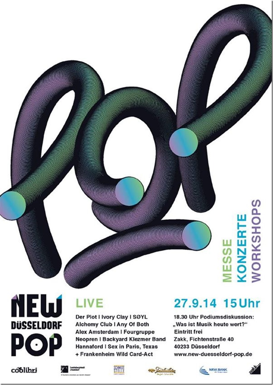 Fourgruppe @ New Düsseldorf Pop (Flyer)