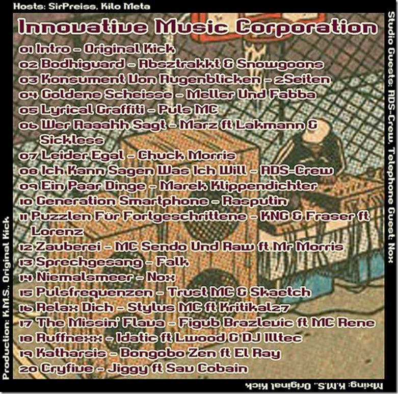 IMC Radio Mixshow 1411 mit ADS Crew & Nox (Tracklist)