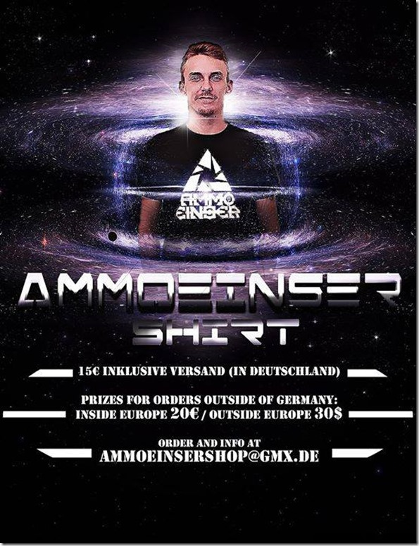 T-Shirt Flyer Ammoeinser