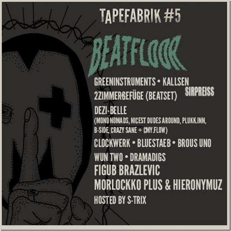 Tapefabrik 2015 Beatfloor Flyer