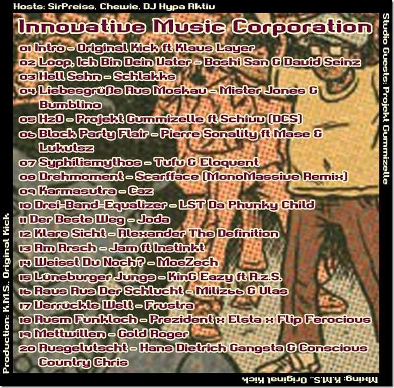 IMC Mixshow 1502 mit Projekt Gummizelle (Tracklist)