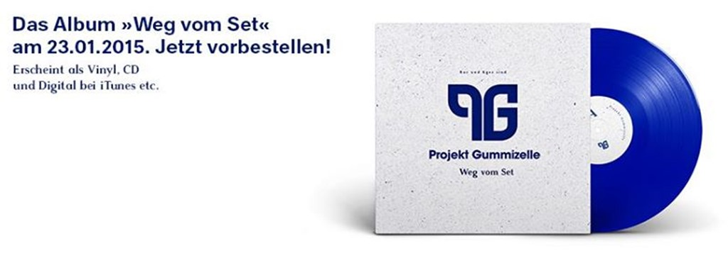 Projekt Gummizelle - Weg vom Set (Bestellflyer)